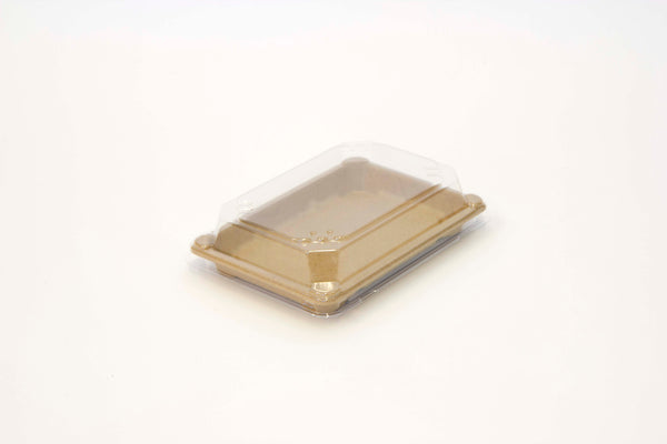 Sushi Tray Medium PET Lid - Grab & Go