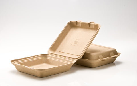 Clamshell - 9 inch 1 Compartment