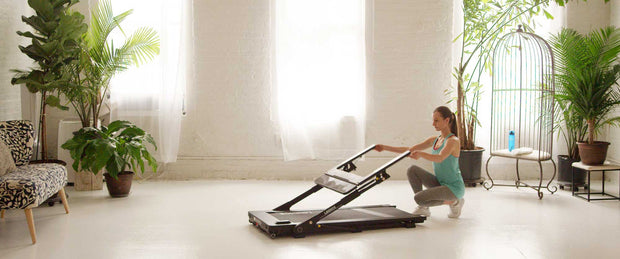folding treadmill for home