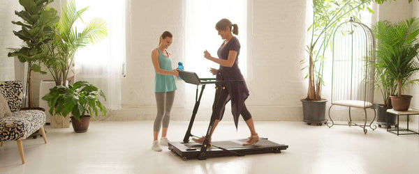 folding treadmill for walking