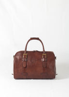 Frères De Voyages Heritage Bag leather weekend bag made in italy