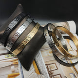 King Bracelet Roman Bangle Bracelet For Men Accessories Gold Cuff - CIVIBUY