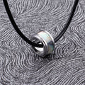 Simple Round Pendant Necklace BRT-D26 - CIVIBUY