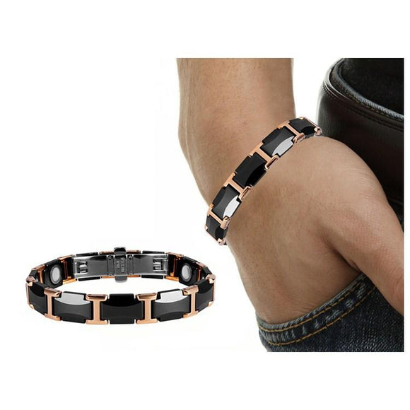 Powerful Magnetic Therapy Bracelet for Arthritis ceramics Bracelet DDF28 - CIVIBUY