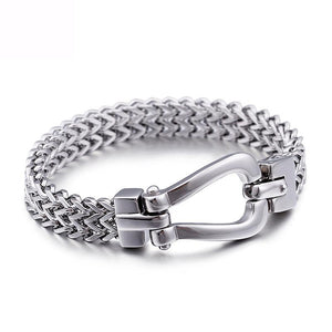 Hight Polished Materials Pure Steel Bracelet Gifts - CIVIBUY