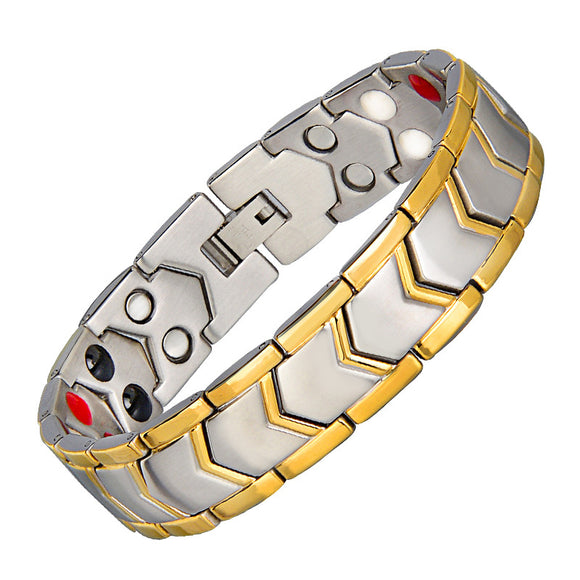 High Gauss Most Effective Powerful Men Magnetic Bracelet Benefits ANG-A70 - CIVIBUY