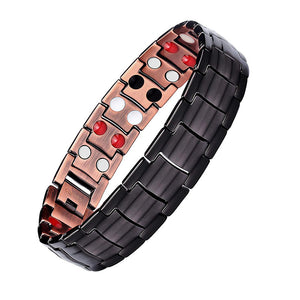 Copper Magnetic Elegant Magnetic Therapy Bracelet Pain Relief for Arthritis - CIVIBUY