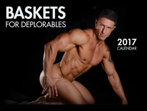 Baskets For Deplorables 2017 Wall Calendar