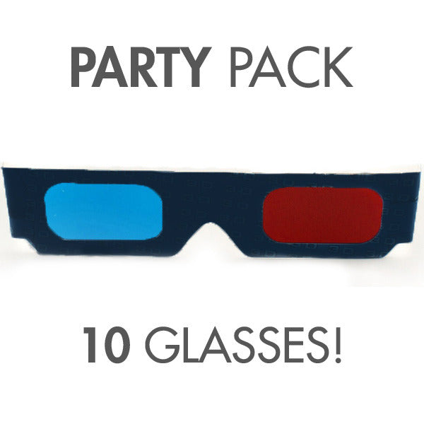 3D Glasses Party Pack