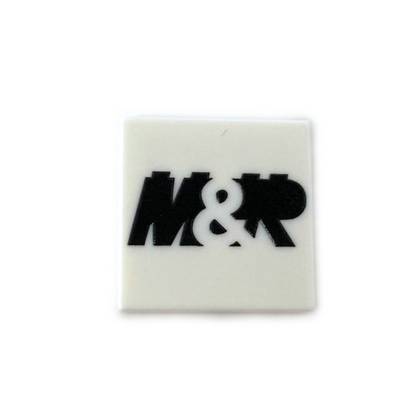 MandRproductions Logo 2x2 Tile