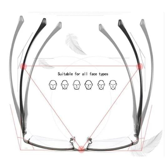 New Year Sale-German Smart Reading Glasses