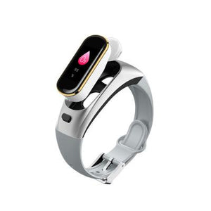 2-in-1 Separate Bluetooth Headset Smart Bracelet