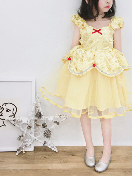 Adorable Belle Kids Princess Dress 2019 | Girl Outfit | Chill and Slay