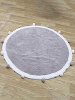 Bubbly Fuzzy Ball Mat Chill And Slay-50% Off-Free Shipping