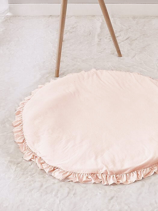 Best Ruffle Edging Baby Mat Rug 50% OFF+FREE SHIPPING - Chill and Slay