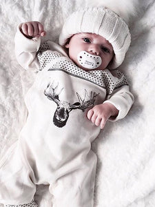 Best Deer Pattern Baby Jumpsuit 50% OFF+FREE SHIPPING - Chill and Slay
