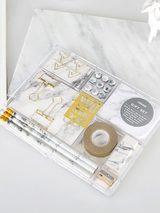 Marble Study Tool Kit Chill And Slay-50% Off-Free Shipping