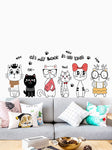 Best Adorable Cat Wall Sticker 50% OFF+FREE SHIPPING - Chill and Slay