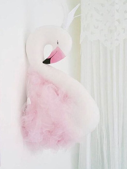 BEST Mesh Swan Wall Decor Chill And Slay-50% Off-Free Shipping
