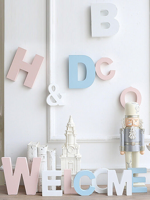 Best 3D  Wooden Alphabets  Art 50% OFF+FREE SHIPPING - Chill and Slay
