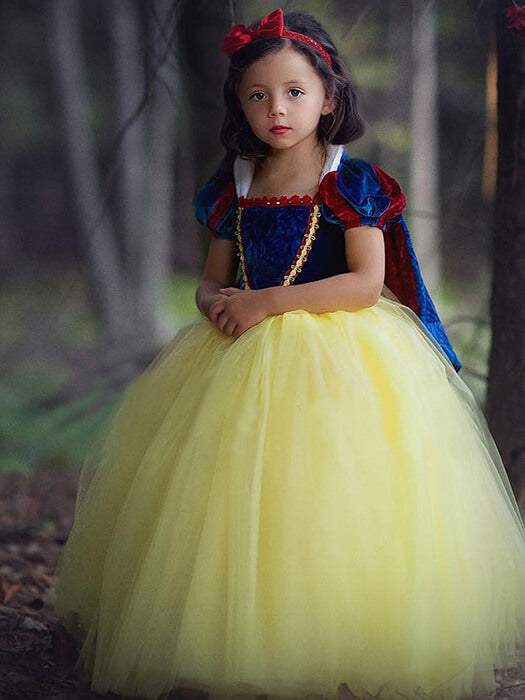 BEST Snow White Dress With A Cape50% Off-Free Shipping-Chill And Slay