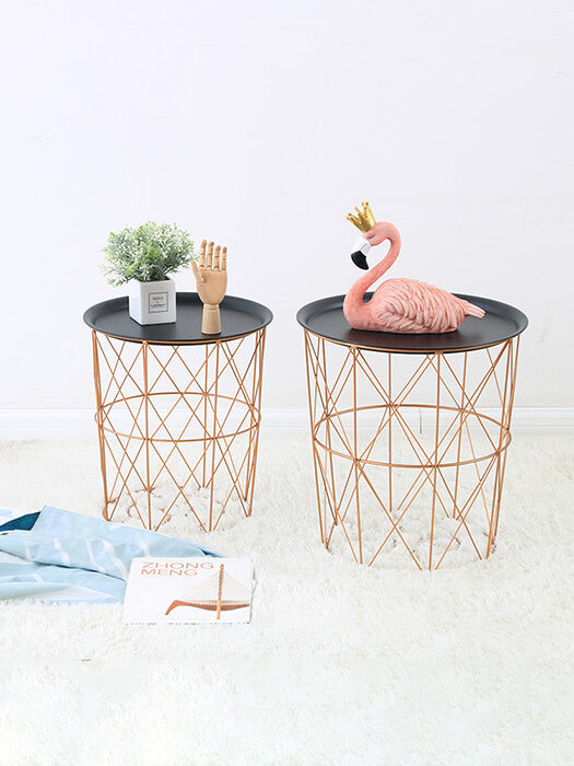 BEST Wire Basket Pedestal 50% Off-Free Shipping-Chill And Slay