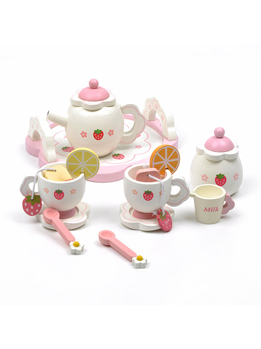 Best Strawberry Tea Time Set 50% OFF+FREE SHIPPING - Chill and Slay
