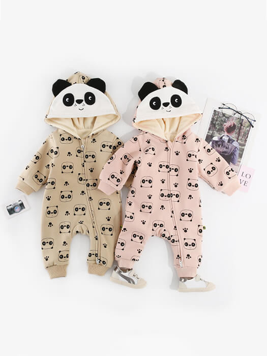 Best Panda Baby Jumpsuit 50% OFF+FREE SHIPPING - Chill and Slay