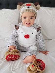 Best Reindeer Jumpuit For Baby Boy 50% OFF+FREE SHIPPING  ChillandSlay