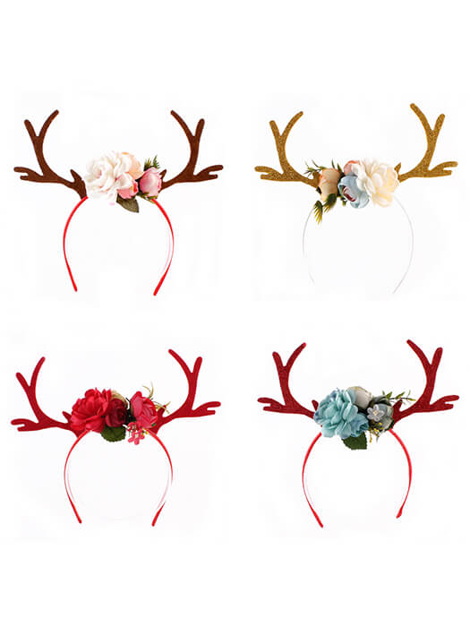 Best Reindeer Antler Headband 50% OFF+FREE SHIPPING - Chill and Slay