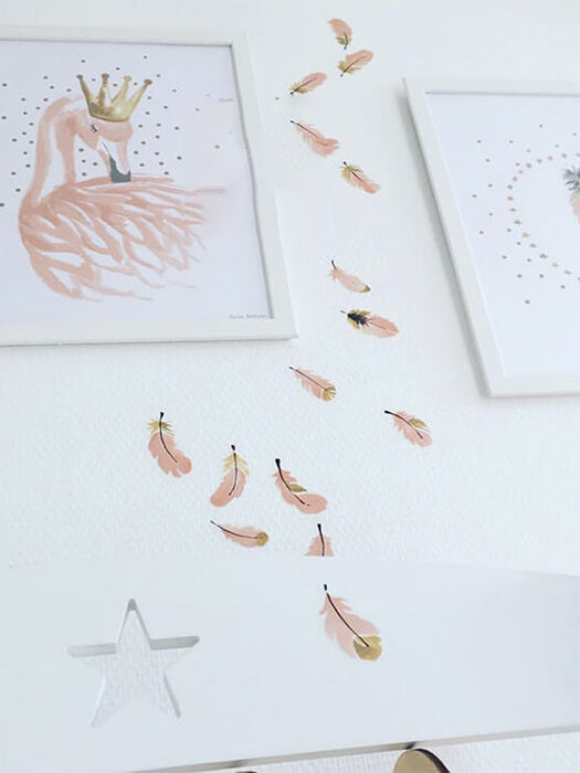Best Feather Sticker Decor(32pcs)50% OFF+FREE SHIPPING ChillandSlay