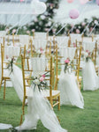 Party and Wedding Chair Sashes