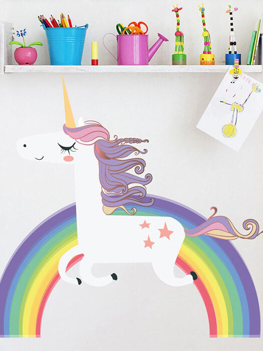 Best Unicorn Rainbow Wall Sticker 50% OFF+FREE SHIPPING Chill and Slay