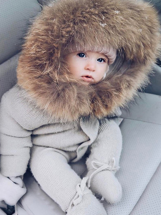 Best Baby Fur Collar Warm Jumpsuit 50% OFF+FREE SHIPPING Chilland Slay