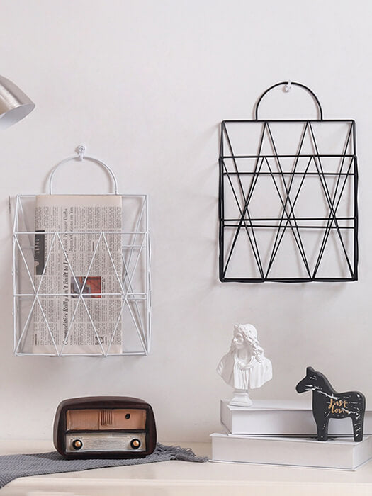 BEST Wire Wall Magazine Holder 50% Off-Free Shipping-Chill And Slay