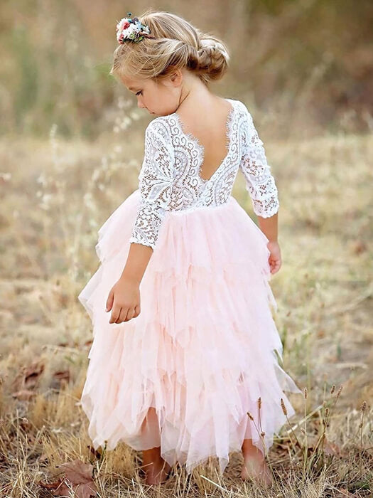 Best Baby Lace Halter Dress 50% OFF+FREE SHIPPING - Chill and Slay