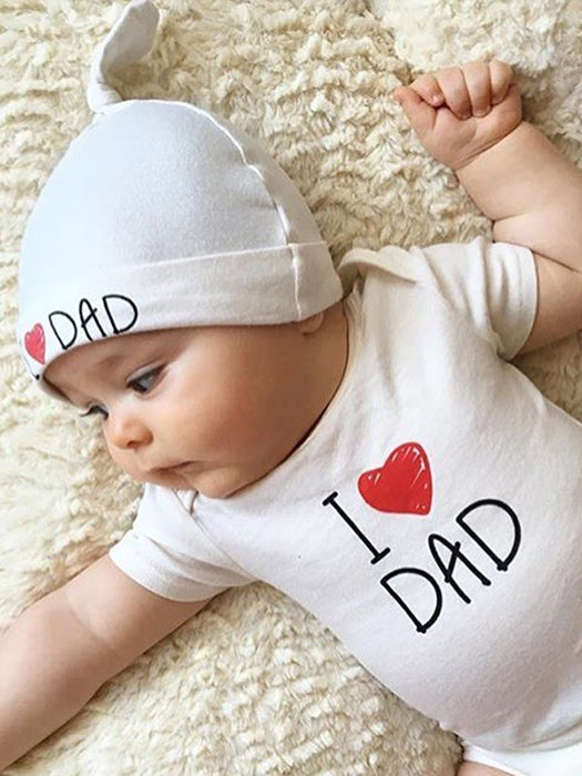 Best I Love Dad & Mom Baby Outfit 50% OFF+FREE SHIPPING  Chilland Slay