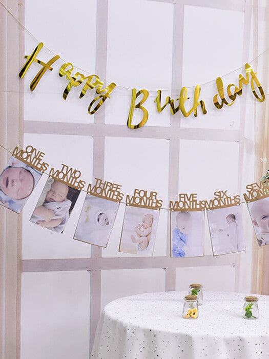 Best Baby  Milestone Photo Banner  50% OFF+FREE SHIPPING  ChillandSlay