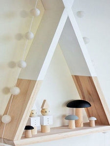 BEST Triangle Nursery Wall Shelf 50% Off-Free Shipping-Chill And Slay