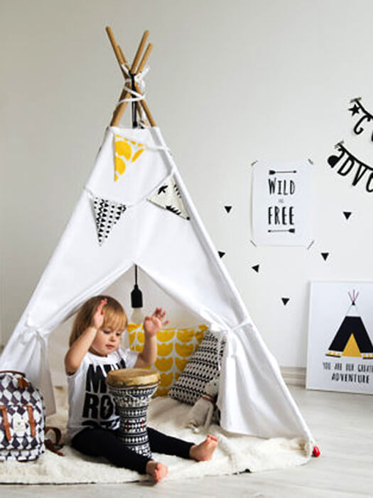 BEST Teepee Kids Tent 50% Off-Free Shipping-Chill And Slay