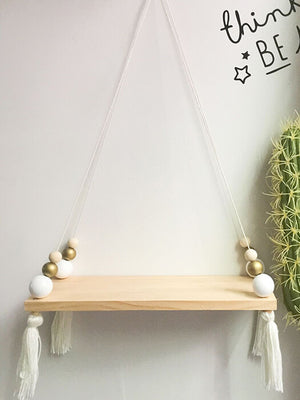 Best  Swing Shelf With Tassel 50% OFF+FREE SHIPPING - Chill and Slay