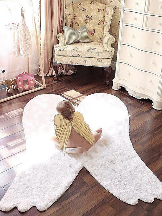 Amazing Angel wings Rug 50% OFF+FREE SHIPPING - Chill and Slay