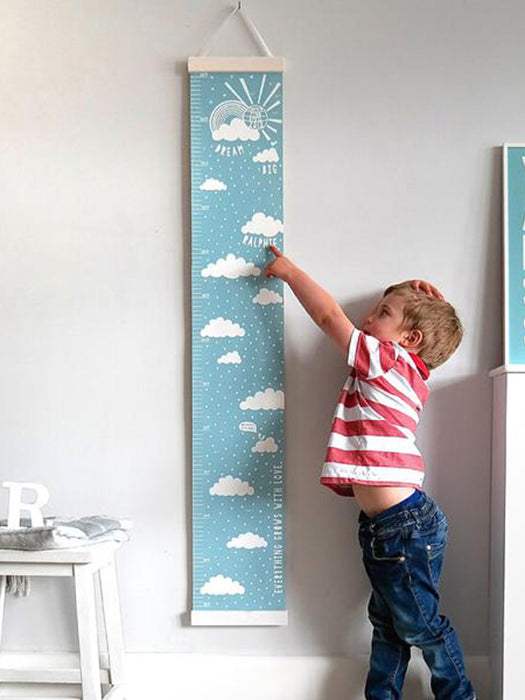 Hanging Growth Chart Height Scale