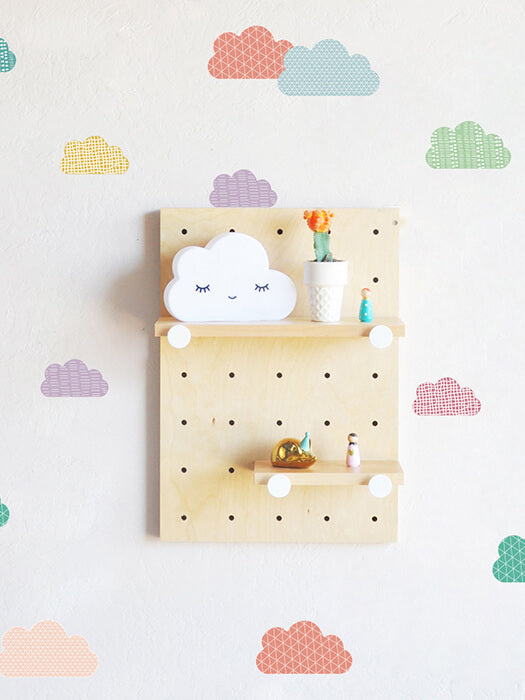 Best Colorful Cloud Wall Sticker 50% OFF+FREE SHIPPING  Chill and Slay