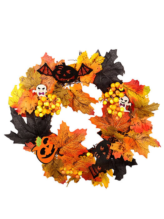 Halloween Fall Wreath Chill And Slay-50% Off-Free Shipping