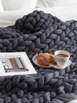 Best Chunky Knit Throw 50% OFF+FREE SHIPPING - Chill and Slay