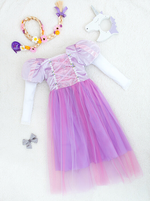 Rapunzel Princess Dress