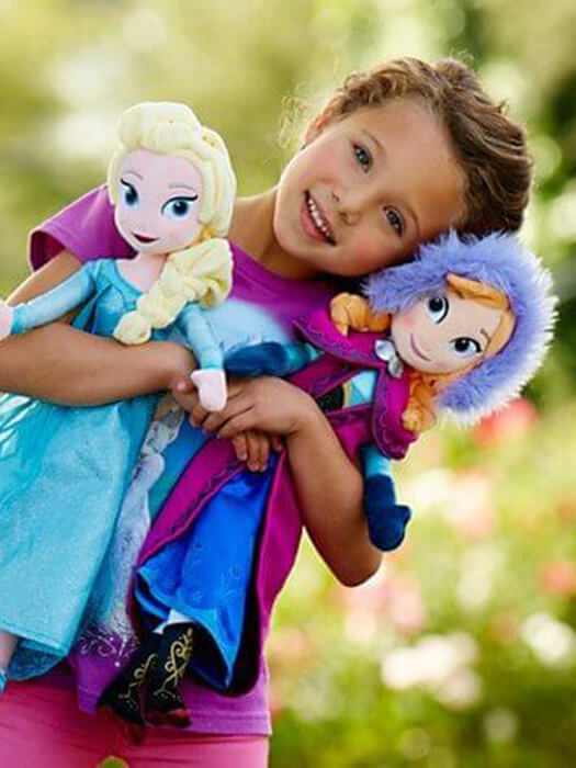 Best Frozen Elsa Anna Ragdoll 50% OFF+FREE SHIPPING - Chill and Slay