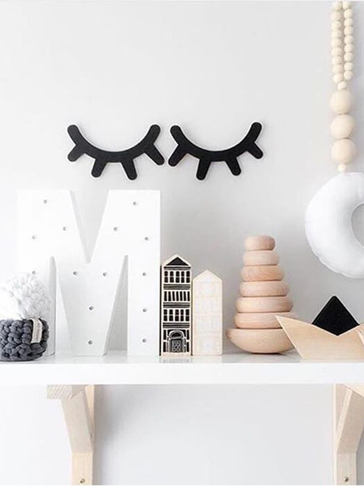 BEST Eyelash Wall Decor Chill And Slay-50% Off-Free Shipping