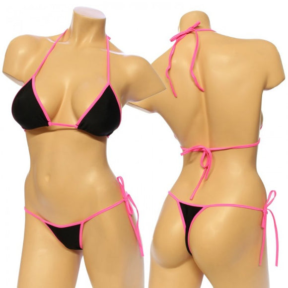 3001 T-Two Tone Bikini Set
